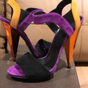 Gucci Liberty high heel sandals